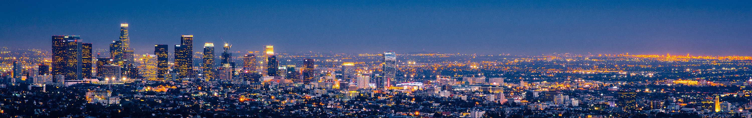 Los Angeles night view